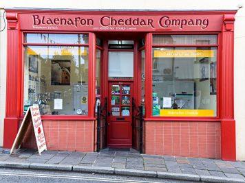 The Blaenafon of Cheddar shop front