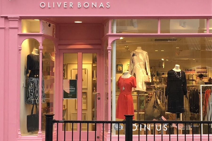 Oliver bonas modern-day shoppers
