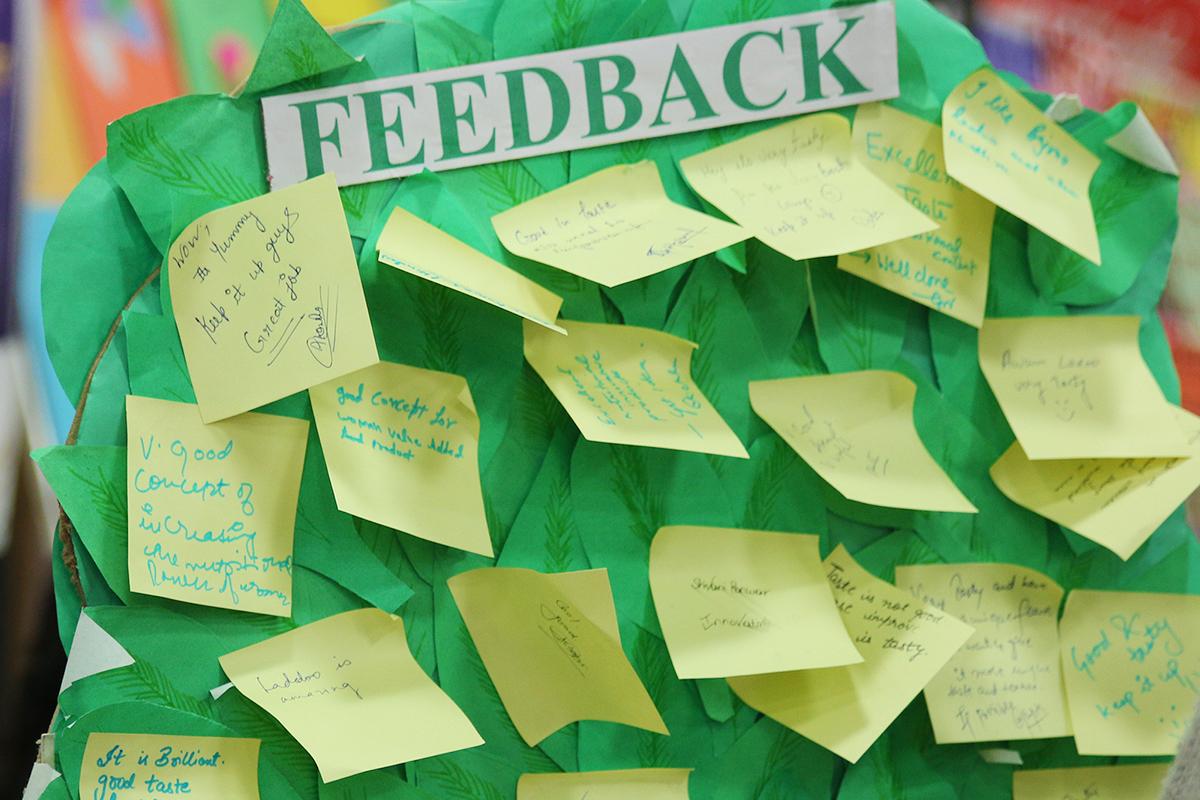 Objective feedback