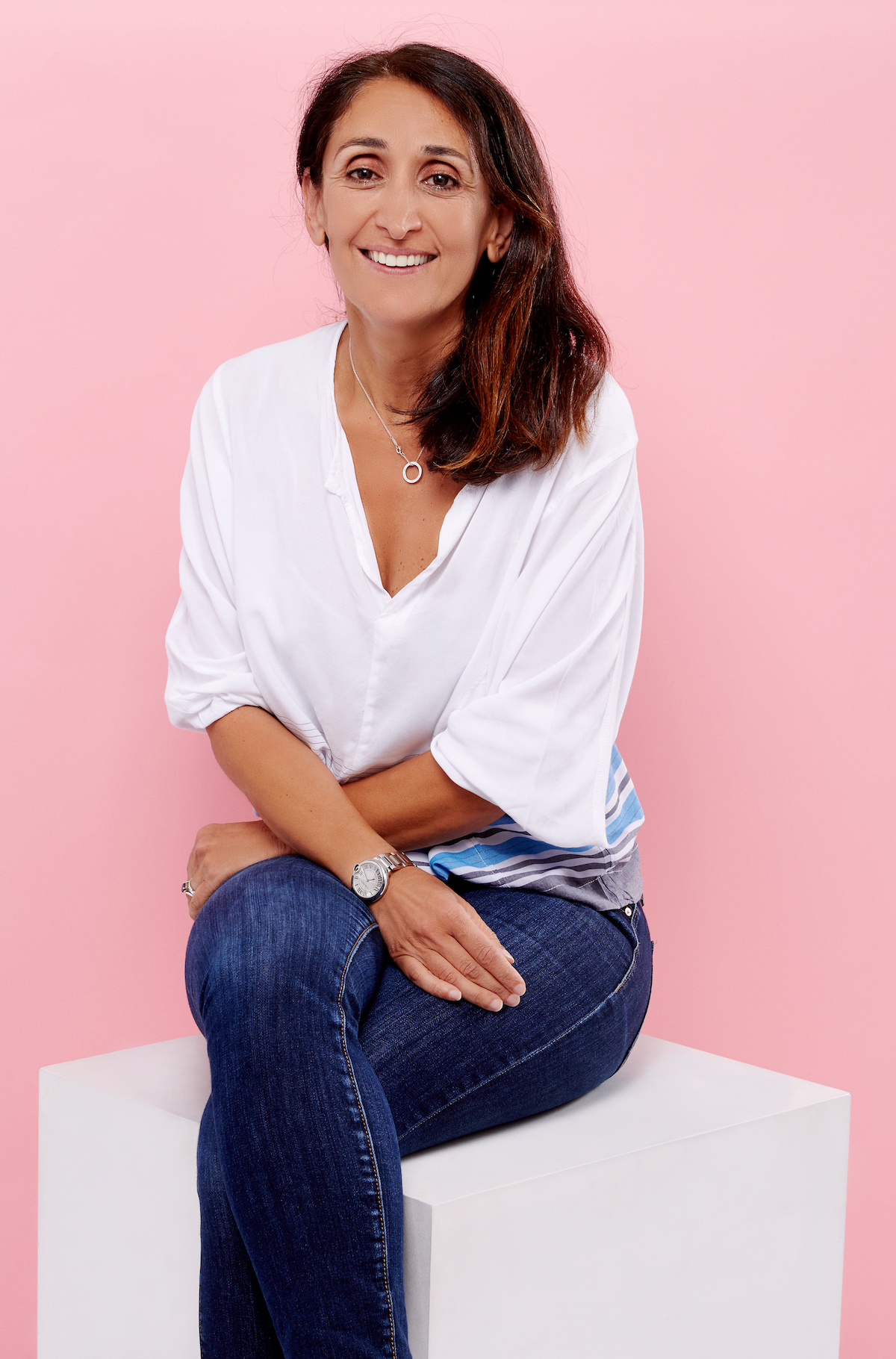 Freda's co-founder Afsaneh Parvizi-Wayne