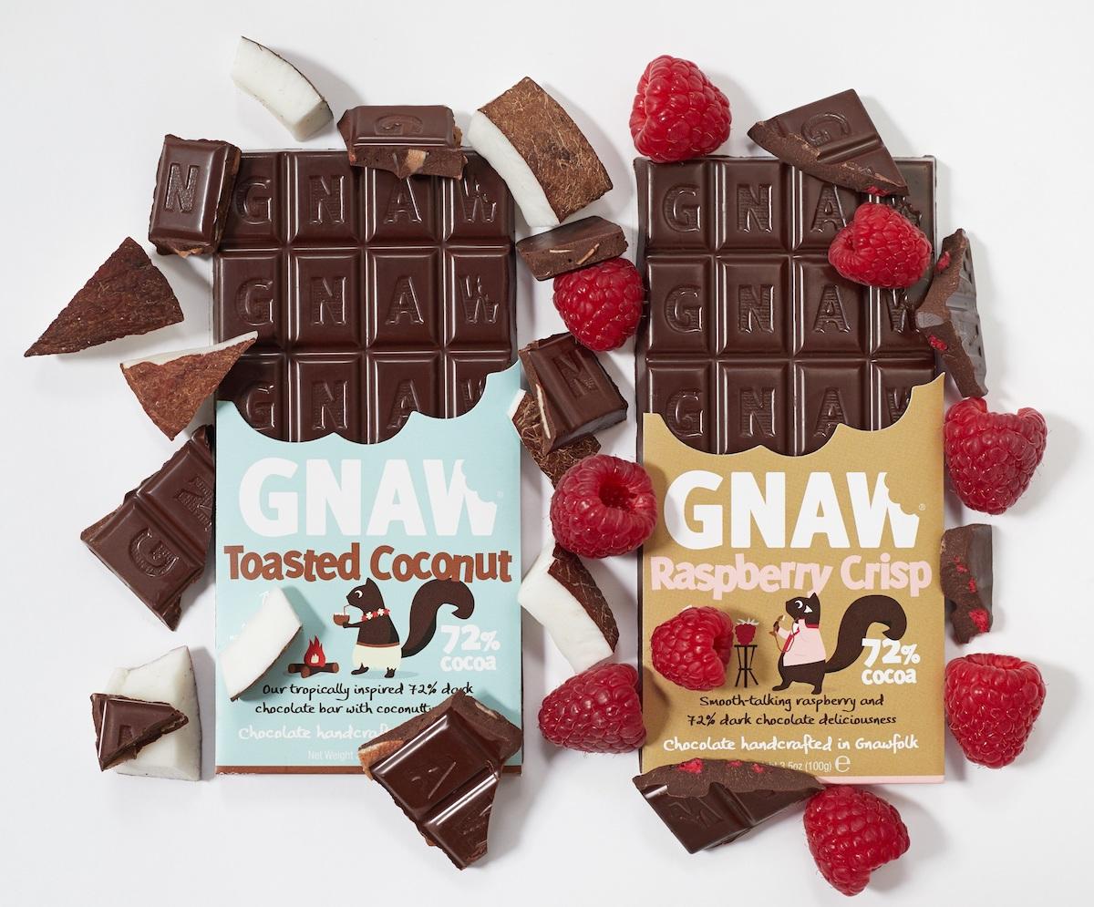 Gnaw chocolate