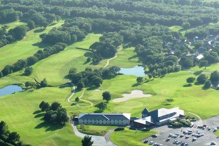 Lanhydrock Hotel and Golf Club aerial