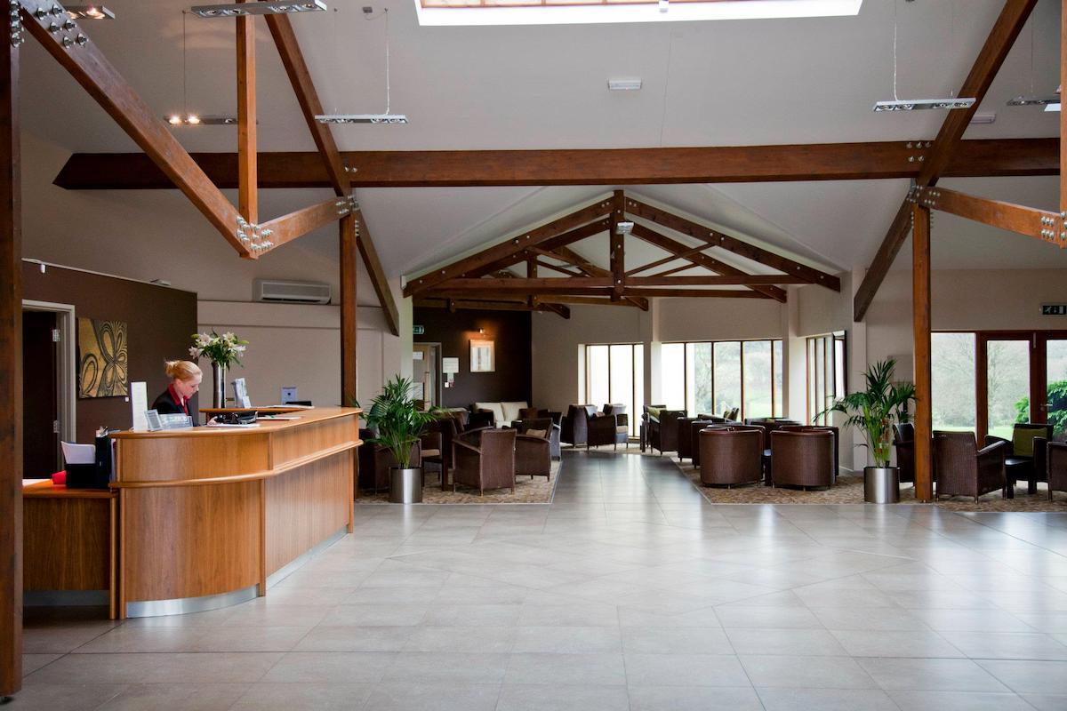 Lanhydrock Hotel and Golf Club reception