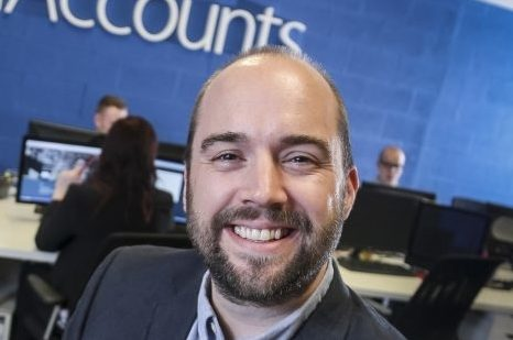 James Poyser improved flexible working at inniAccounts